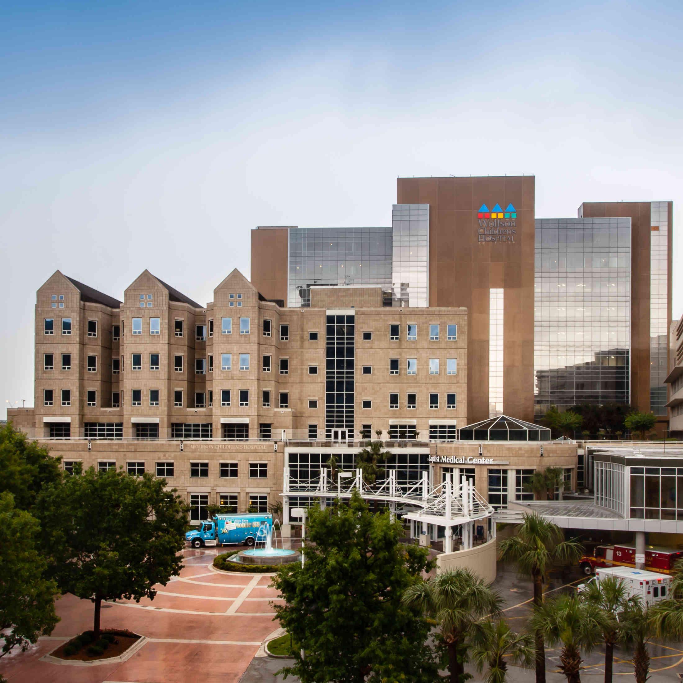 Wolfson Children's Hospital Main Campus Downtown