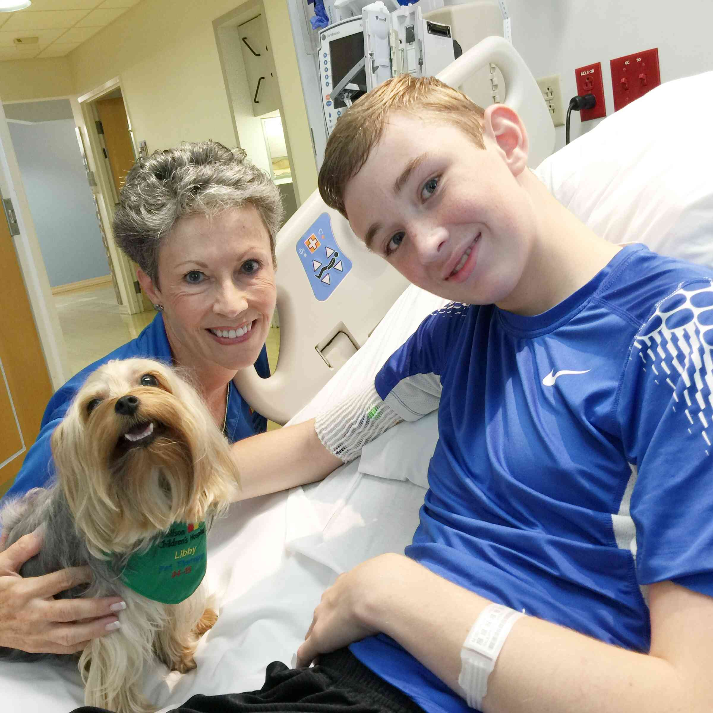 Wolfson Children's Hospital Pet Therapy
