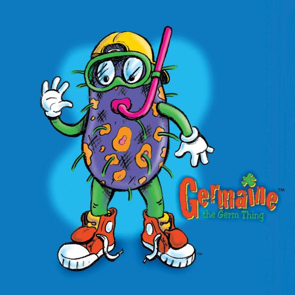 Wolfson Children's Hospital Germaine the Germ Thing