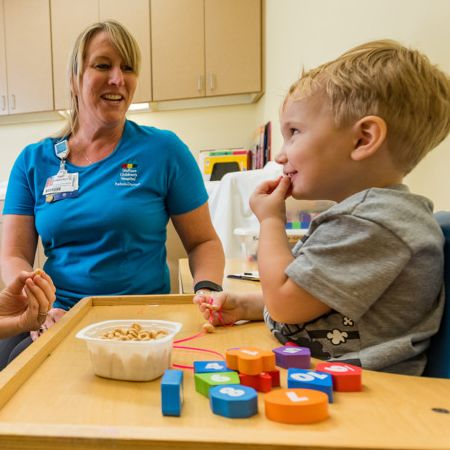 Wolfson Children's Hospital Speech Therapy