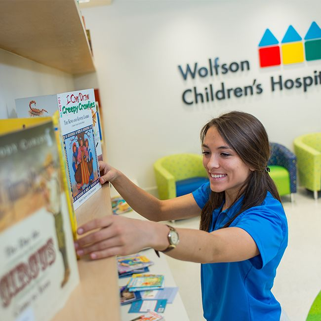 Wolfson Children's Hospital Volunteer