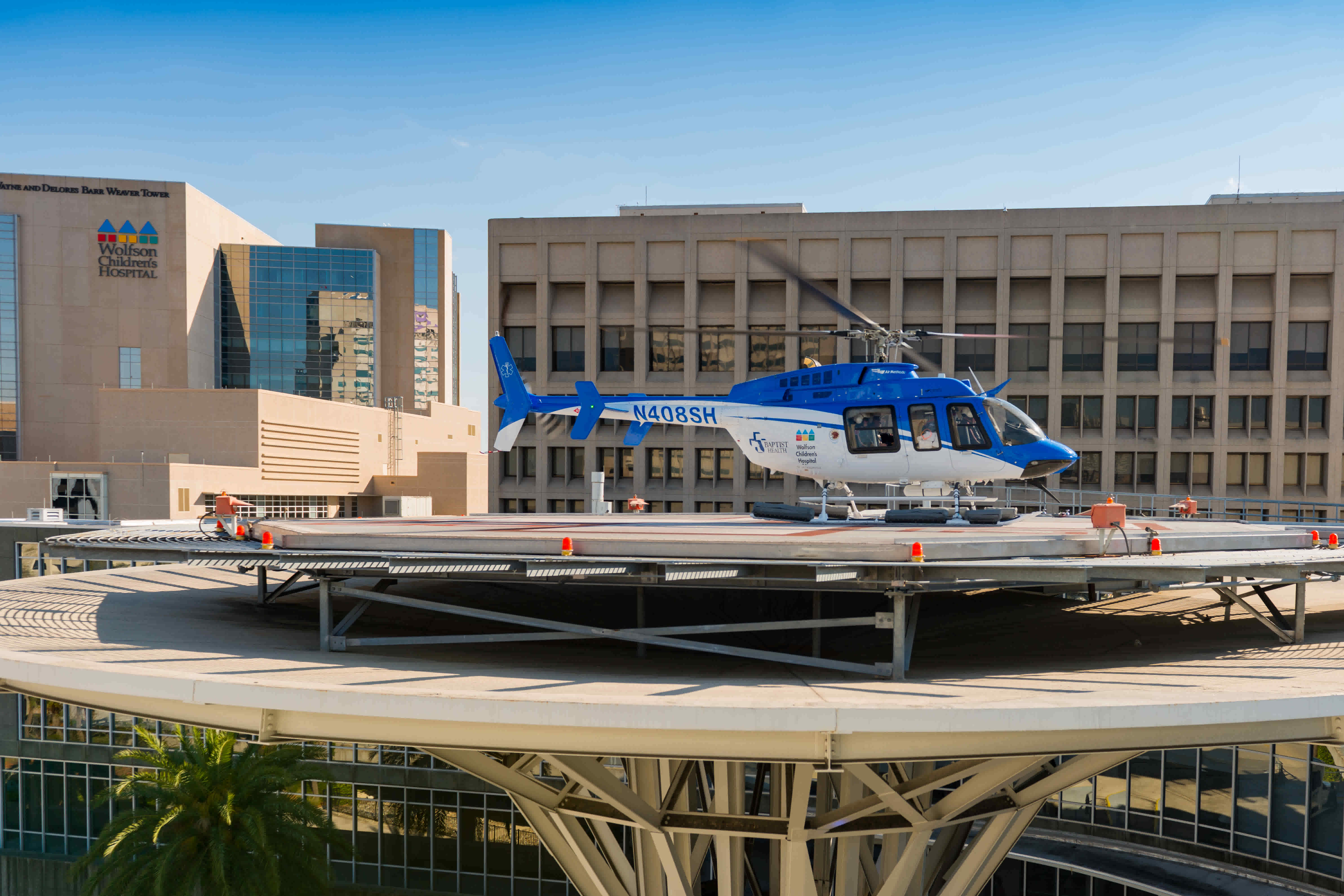 Wolfson Children's Hospital Life Flight