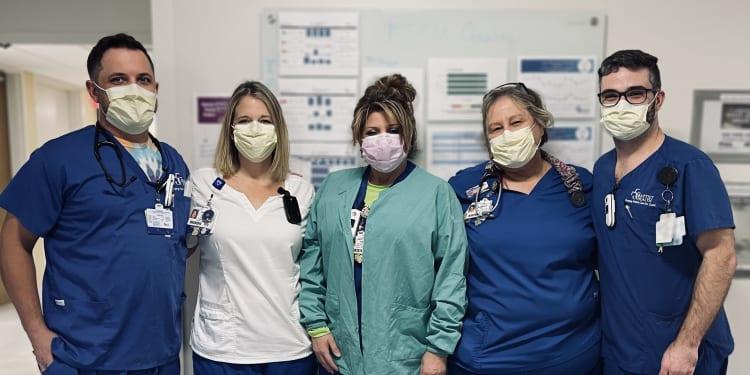 Baptist Team members get COVID-19 vaccine
