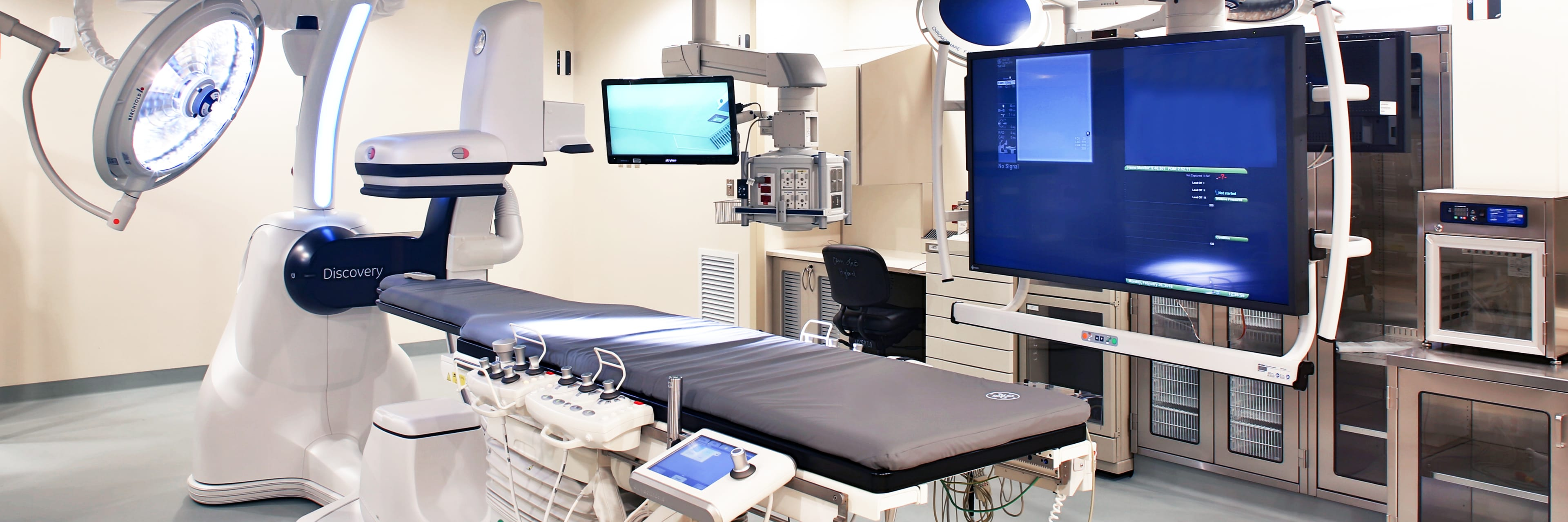 Baptist Heart hospital state-of-the-art hybrid structural lab and OR suite