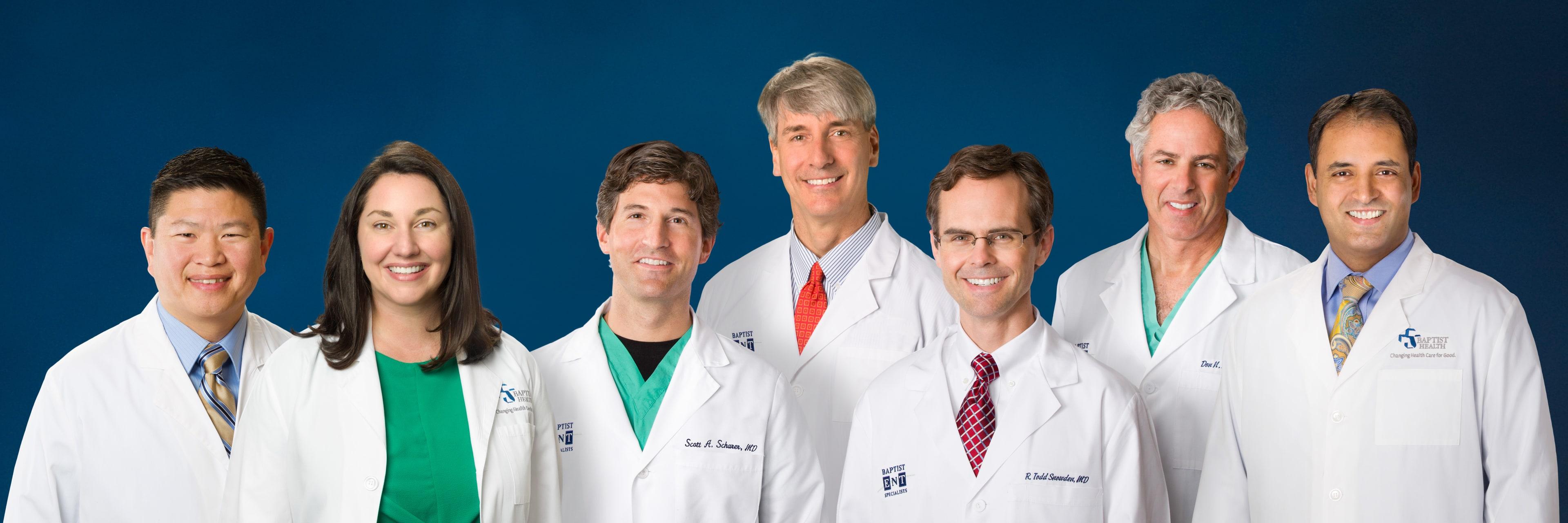 Group of Baptist ENT doctors