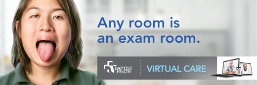 Any Room is an exam room - Baptist Health Virtual Care