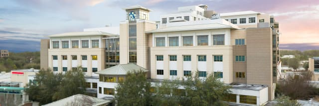 exterior shot of baptist medical center south