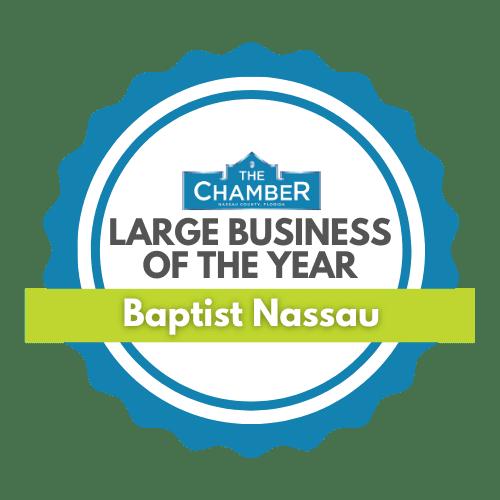 Nassau Large Business of the Year Award Logo