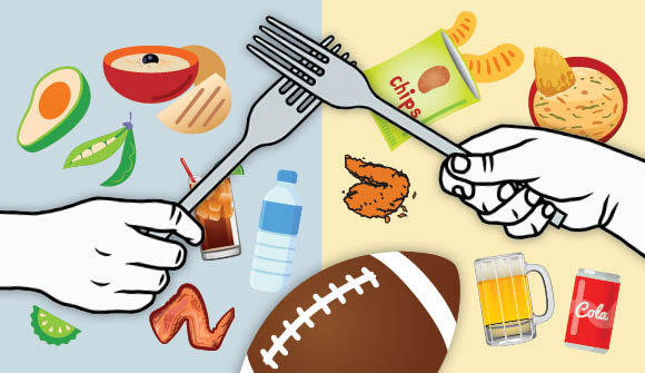 photo for Super Bowl snack swap article