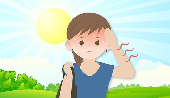 Heat exhaustion, heatstroke