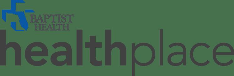 logo that says Baptist Health Health Place