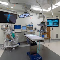 inside the operating room at clay county surgery center
