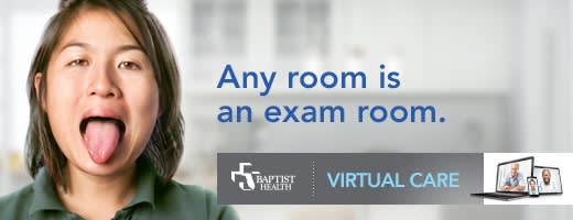 Any Room is an exam room - Baptist Health Virtual Care