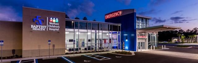 Baptist & Wolfson Town Center Emergency Room