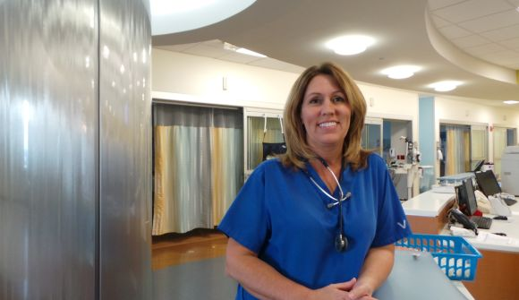 Linda Shriner, nurse at Baptist Health