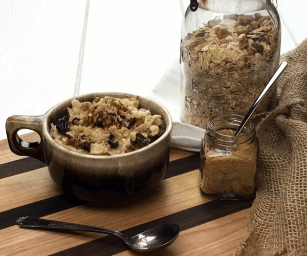 Raisin Walnut Oatmeal Mix