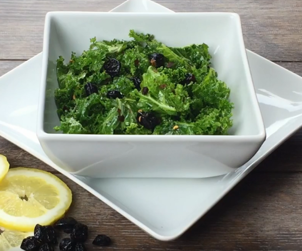 Kale Salad with Lemon Vinaigrette