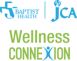 Logo of Baptist Health JCA Wellness Connexion program