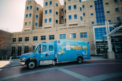 Wolfson Children's Hospital Kids Kare Mobile ICU