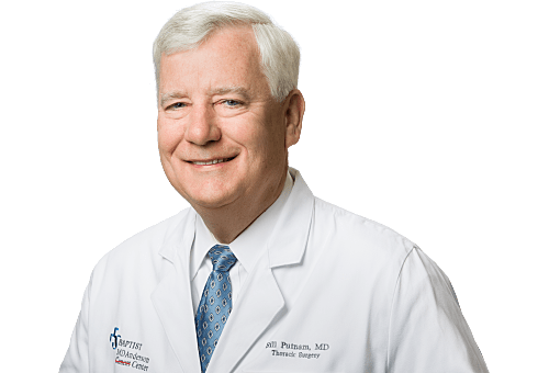 Bill Putnam, MD, FACS is a Thoracic Surgeon for Baptist Health in Jacksonville, FL