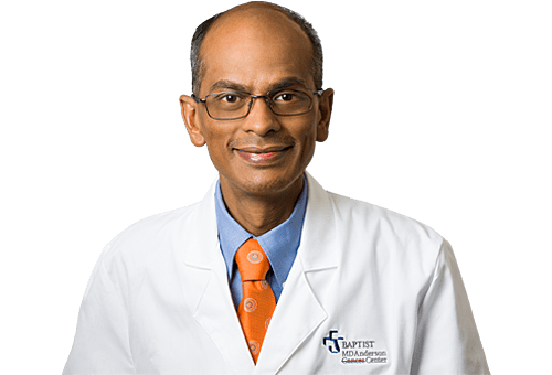 Sridhar Srinivasan, MD is a Hematologist Oncologist for Baptist Health in Jacksonville, FL