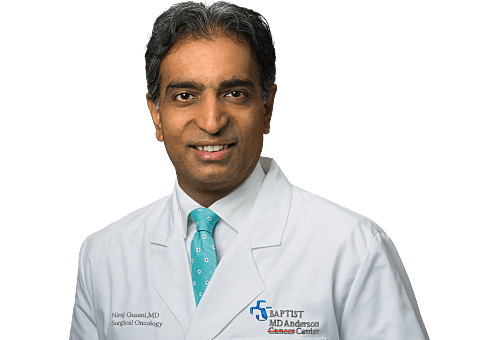 Niraj Gusani, MD, FACS is a Surgical Oncologist for Baptist Health in Jacksonville, FL