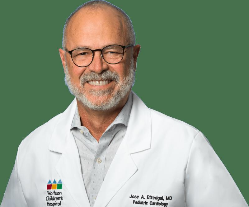 photo of Jose Ettedgui, MD, Pediatric Cardiologist