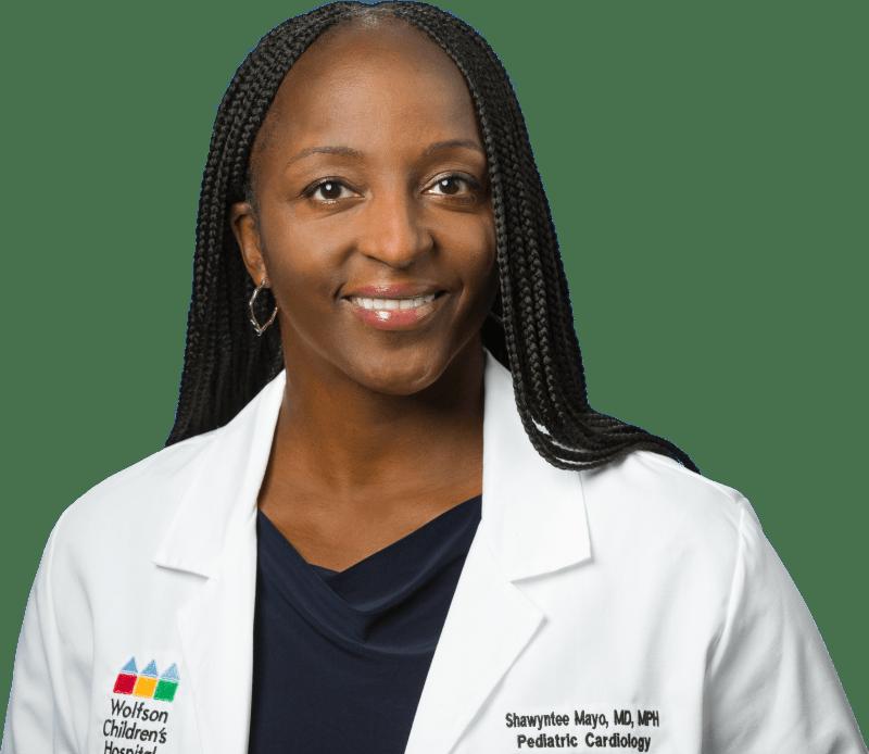 photo of Shawyntee Mayo, MD, Pediatric Cardiologist