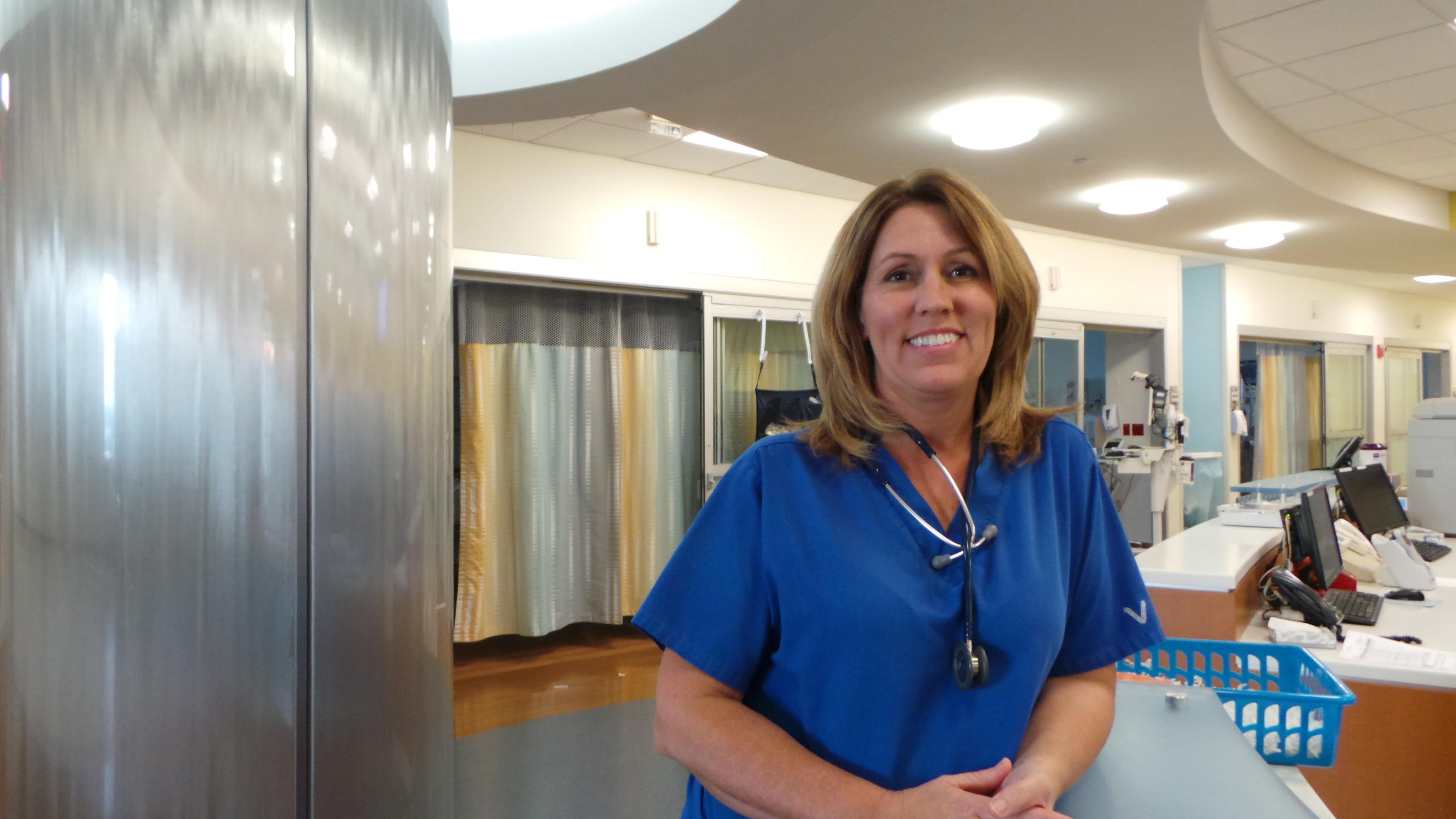 Linda Shriner, nurse at Baptist Health