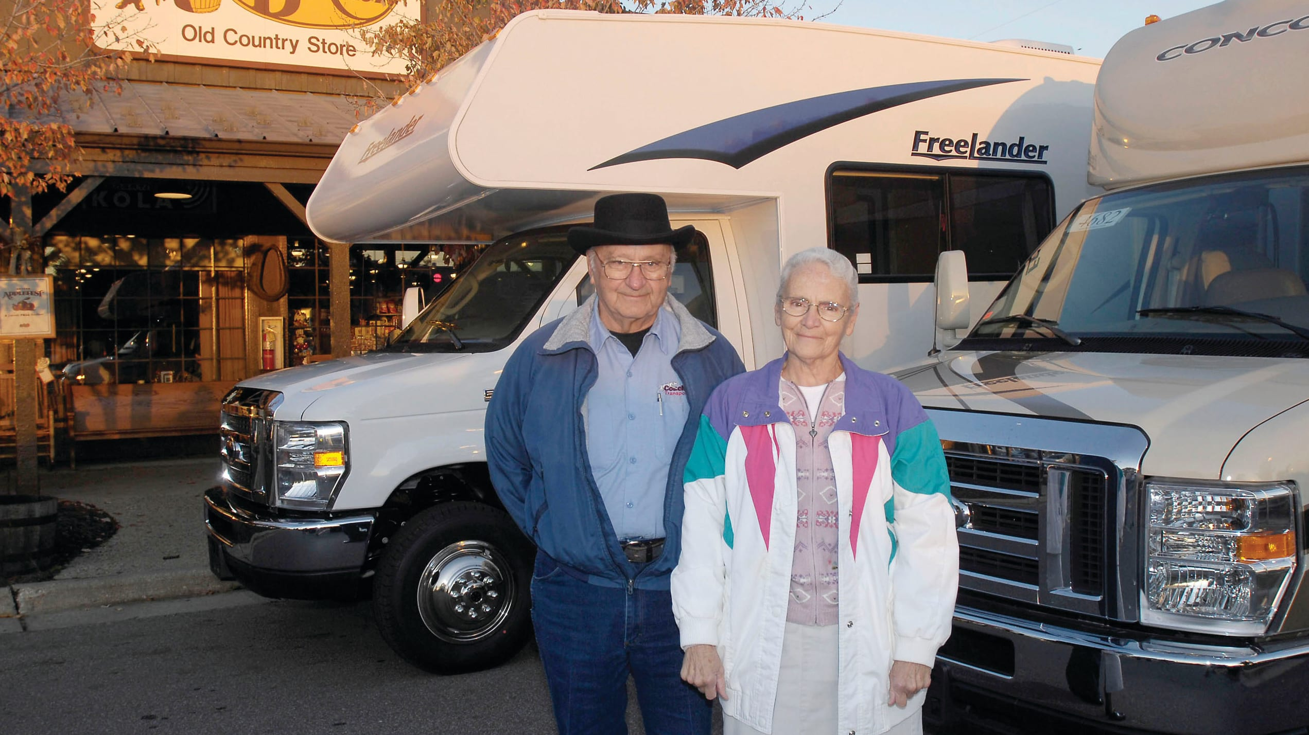 Ray and Wilma Yoder