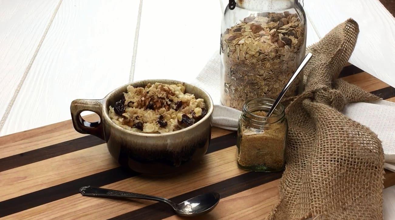 Raisin Walnut Oatmeal Mix