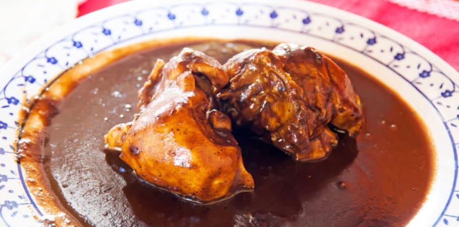 photo for RECIPE: Cocoa Chicken Mole article