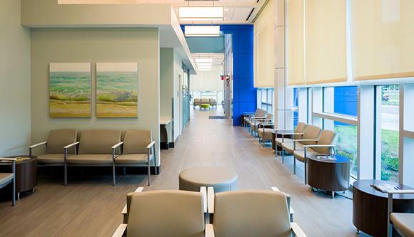 empty emergency room