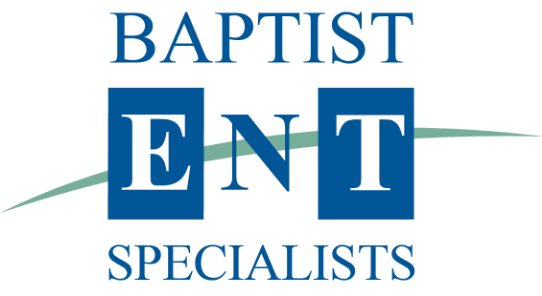 graphic logo of Baptist ENT Specialists