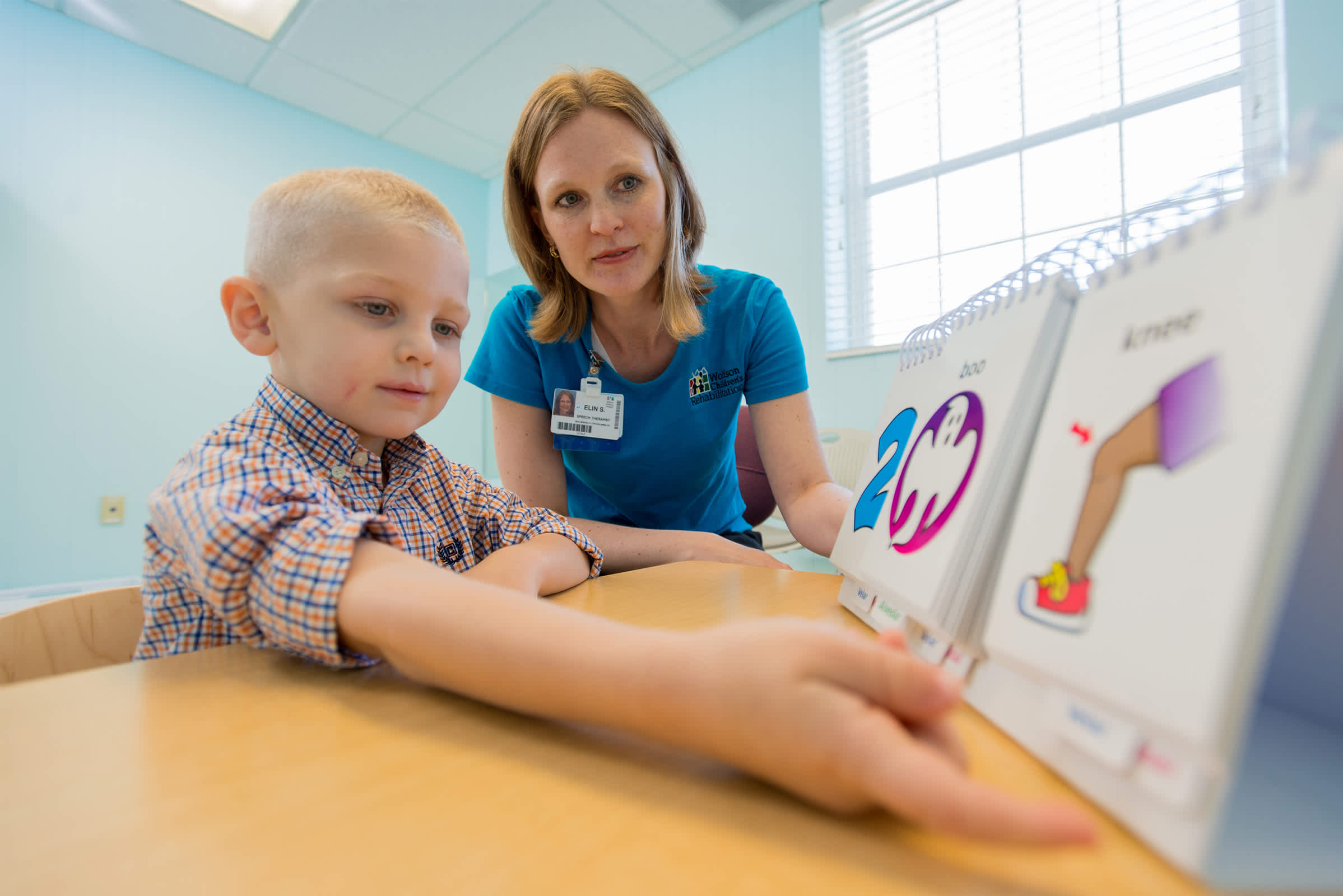 Wolfson Children's Hospital Speech Therapy Services