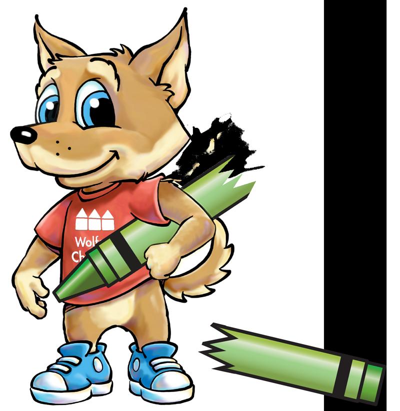 Wolfie from Wolfson Children's Hospital