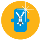 Wolfson Children's Hospital Car Seat Inspection Icon
