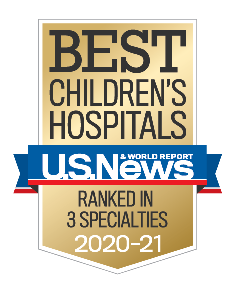 Us News best Children's Hospitals Ranked in Three Specialties 2020-2021