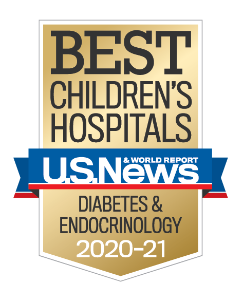 Us News best Children's Diabetes and Endocrinology