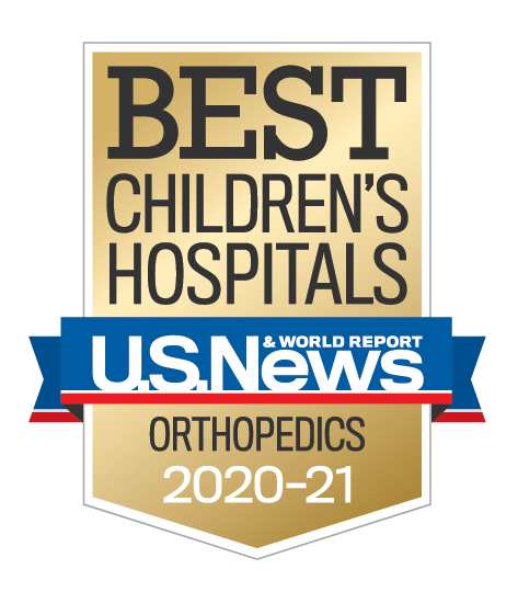 Us News best Children's Orthopedic Care 2020-2021