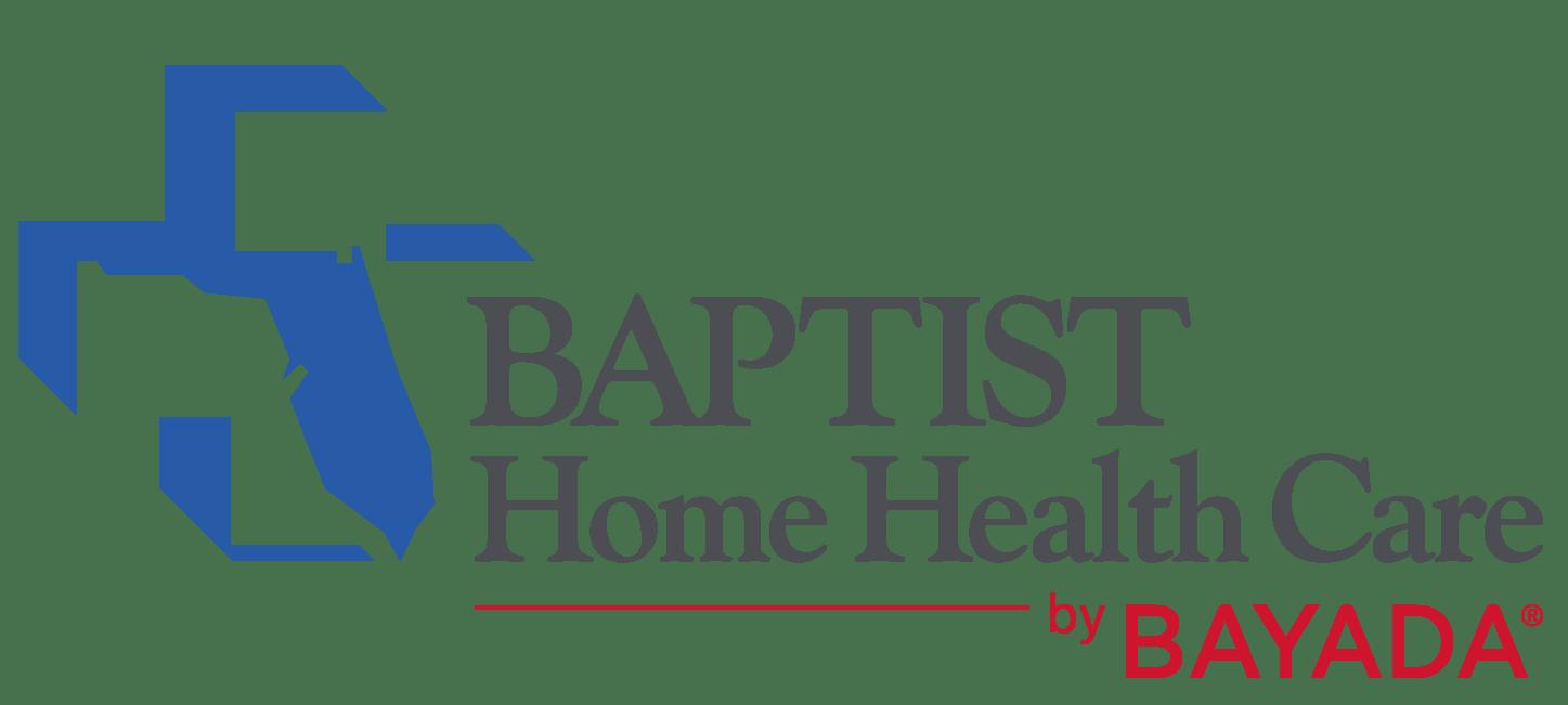 Bayada and Baptist Health graphic logos
