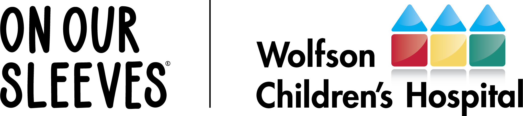 Wolfson Children's Hospital and On Our Sleeves logo