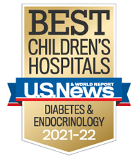 Us News best Children's Diabetes and Endocrinology 2020-2021