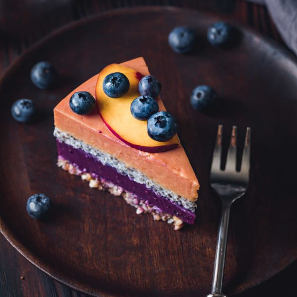 Blueberry Yoghurt Cake With Chia Seeds