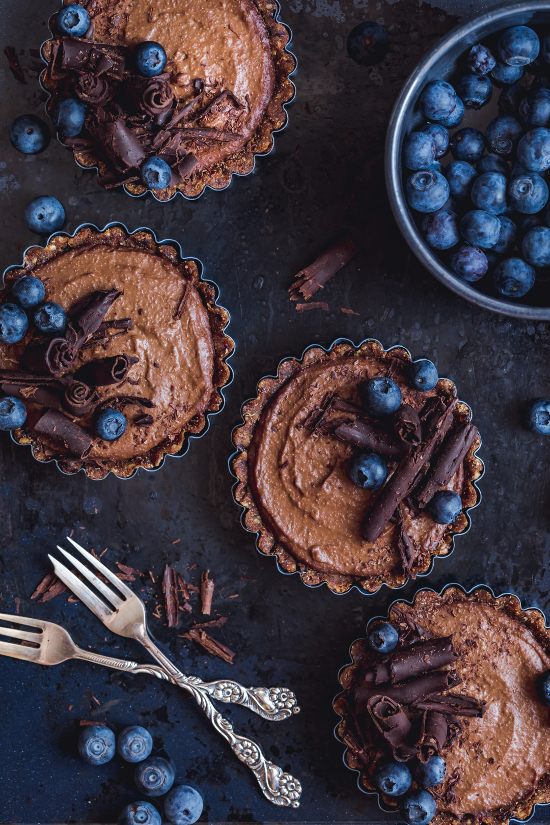 No-bake tartlets