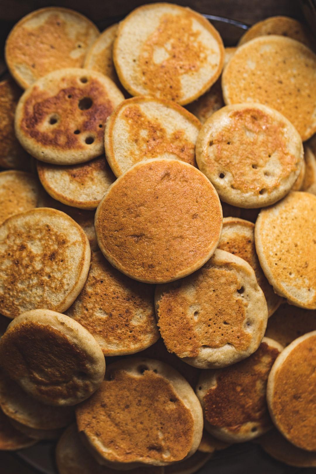Simple Banana Pancakes Gluten-free Sugar-free