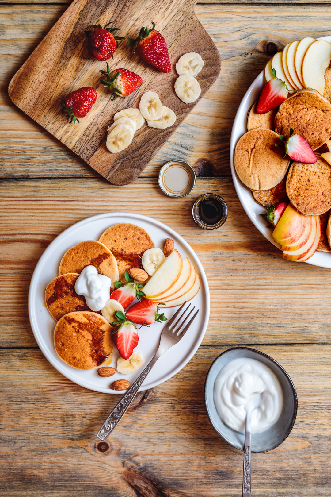 Vegan Pancakes Gluten-free Sugar-free