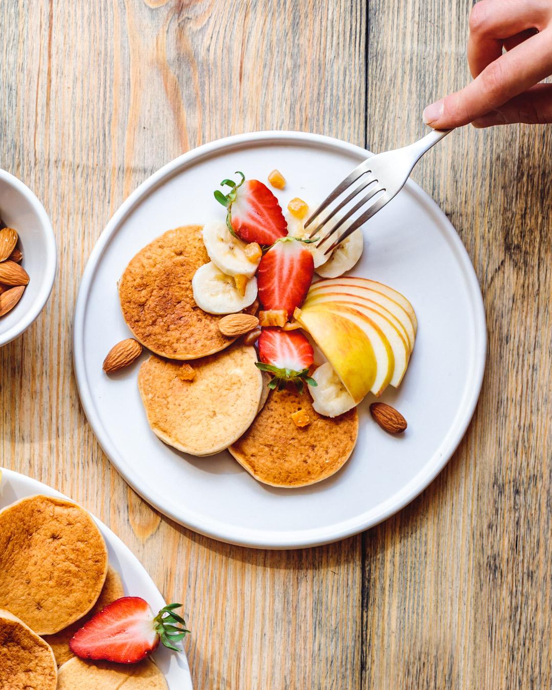Vegan Pancakes Gluten-free