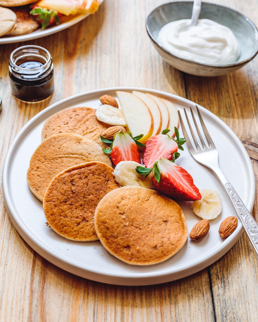 Vegan Banana Pancakes Gluten-free