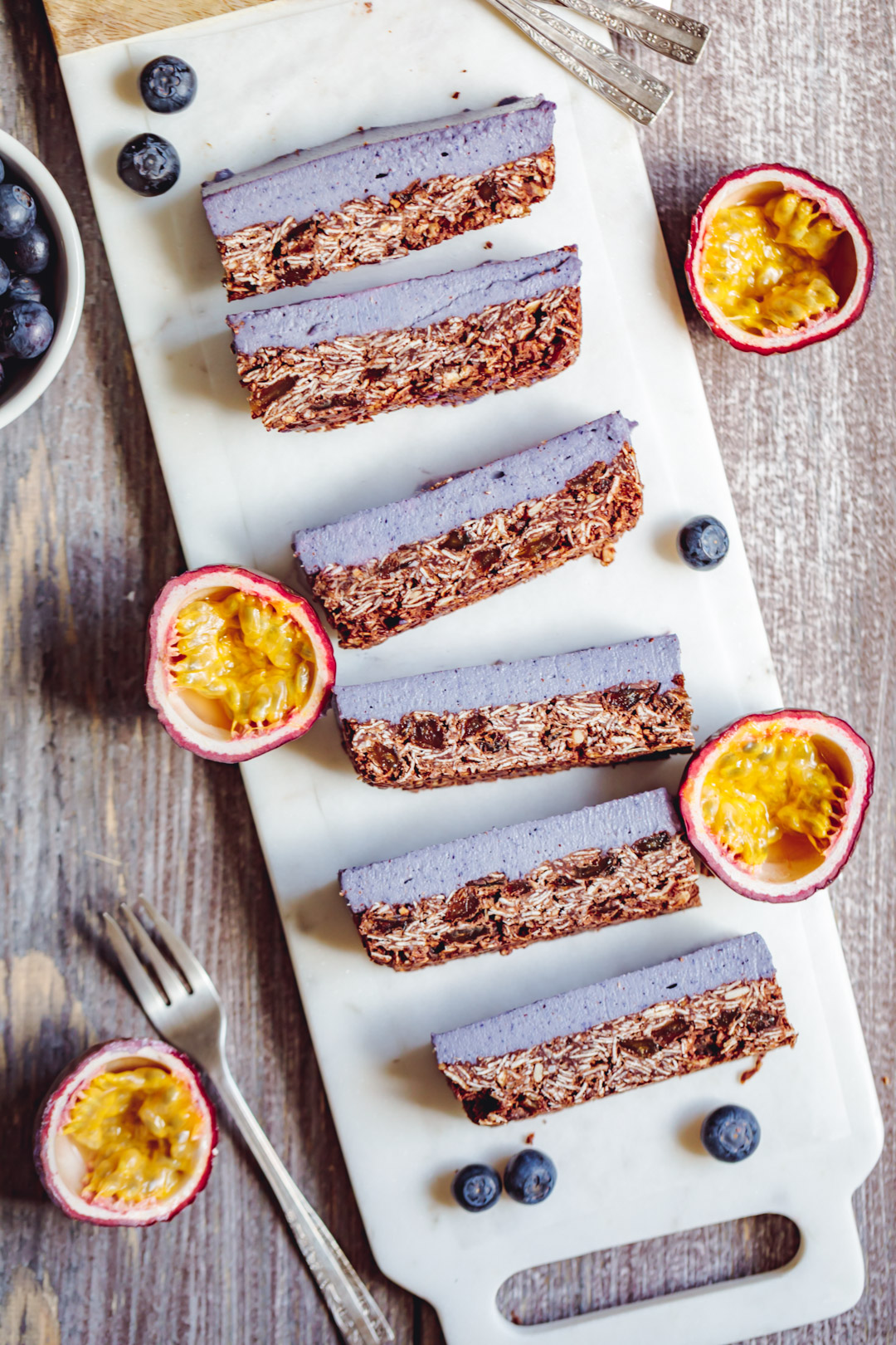 Vegan Cheesecake With Oat Chocolate Based